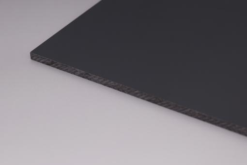 HPL-Kompaktplatten Uniplan 6 mm Anthrazit