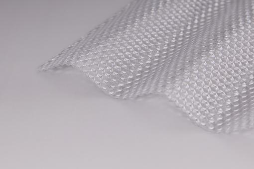 Lichtplatten Acrylglas Sinuswelle 76/18 Wabenstruktur klar 3,0mm