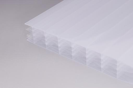 """25mm Stegplatten Polycarbonat IQ-Relax Makrolon """"hitzereduzierend"""""""