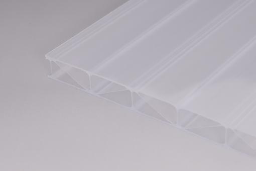16mm Stegplatten Polycarbonat Marlon Premium Longlife weiß-opal Hagelsicher