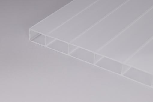 16mm Doppelstegplatten Acrylglas 16/32 Weiss-Opal