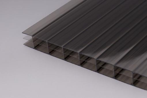 16mm Stegplatten Polycarbonat Bronze 3-fach MARLON®