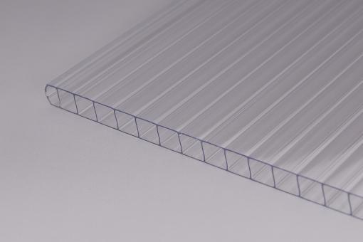 8 mm Doppelstegplatten Polycarbonat glashell