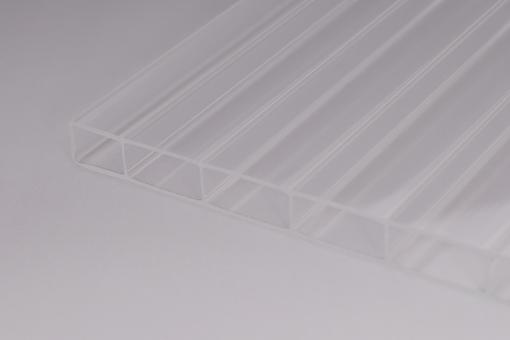 16mm Doppelstegplatten Acrylglas 16/32 GlasKlar