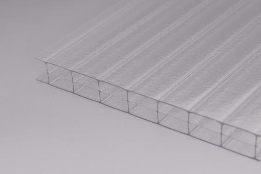 16mm Stegplatten Polycarbonat Innenstruktur 3-fach