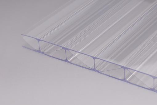 16mm Stegplatten Polycarbonat Marlon Premium Longlife glashell Hagelsicher