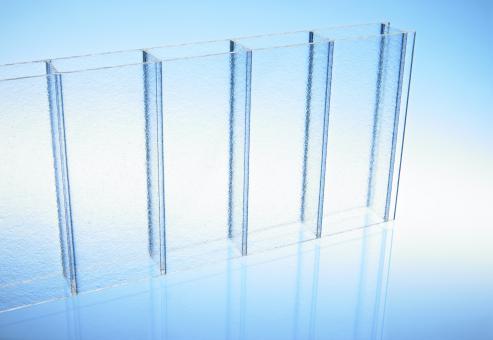 16mm Doppelstegplatten Acrylglas 16/32 strukturiert