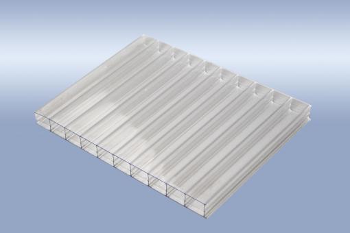 16mm Stegplatten Polycarbonat glashell 3-fach - Multisteg