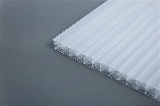 AKTION !!!16mm Stegplatten Polycarbonat Licht-Weiss MARLON® X-Wall