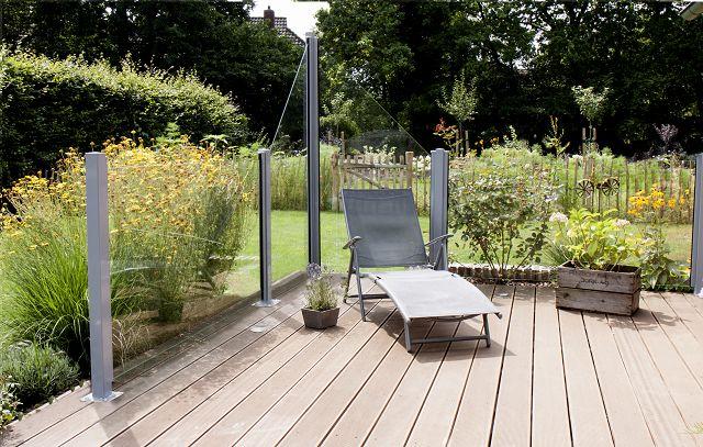 wind und sichtschutz aus glas senkrecht 90 x 180 cm bernd fitschen gnbr. Black Bedroom Furniture Sets. Home Design Ideas