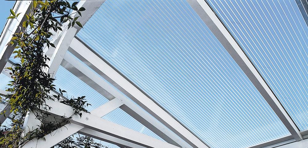 Sehr Terrassenüberdachung Glas oder Kunststoff | Vergleich | Bernd EG95