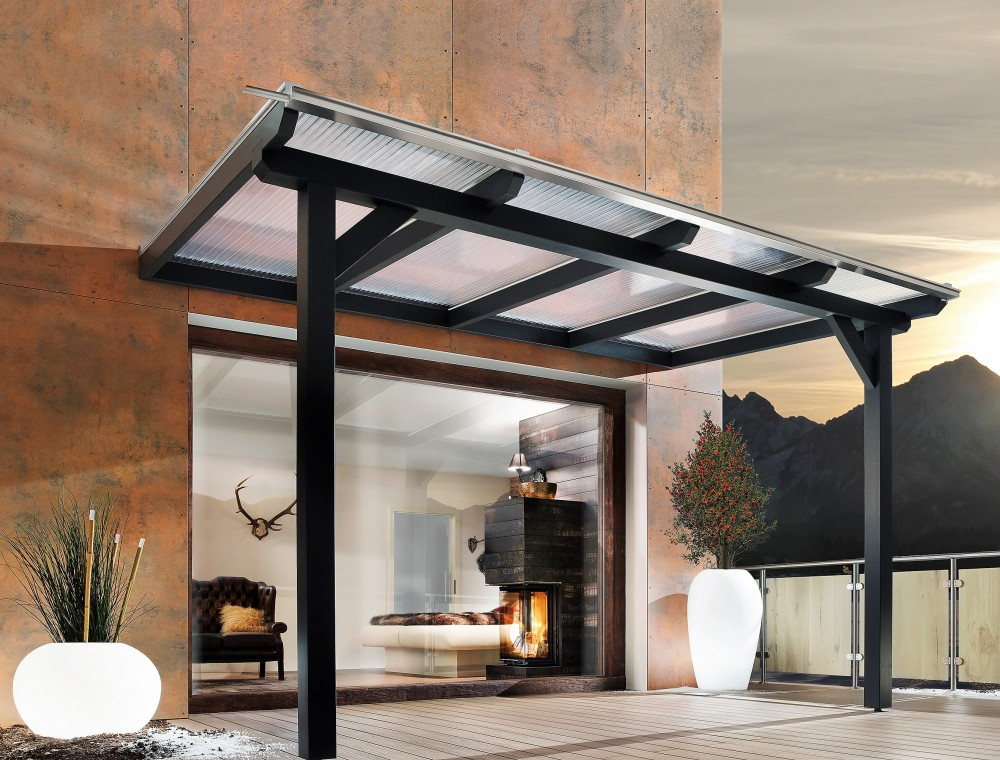 Berühmt Terrassenüberdachung Glas oder Kunststoff | Vergleich | Bernd JX34